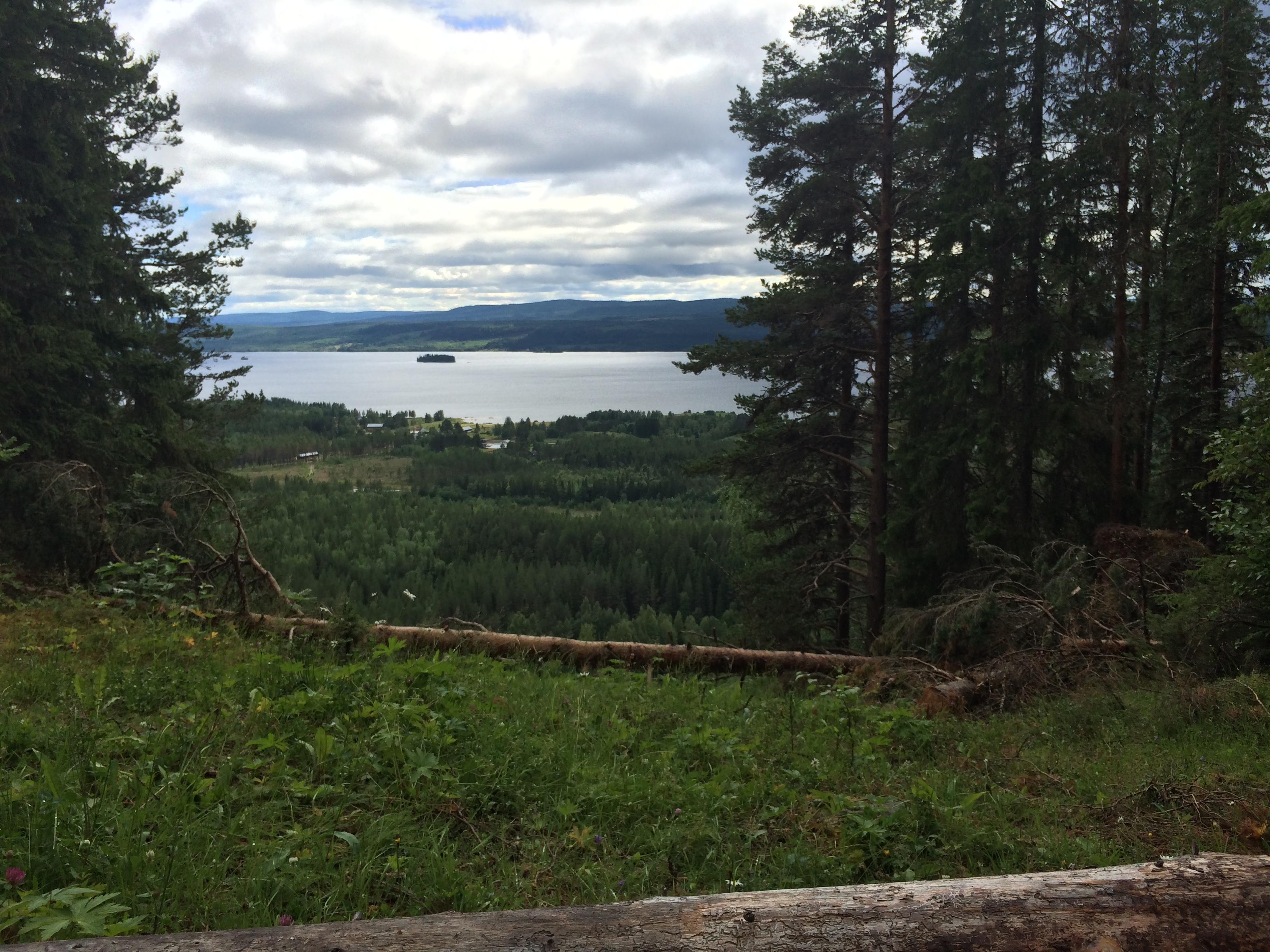Utsikten är underbar!