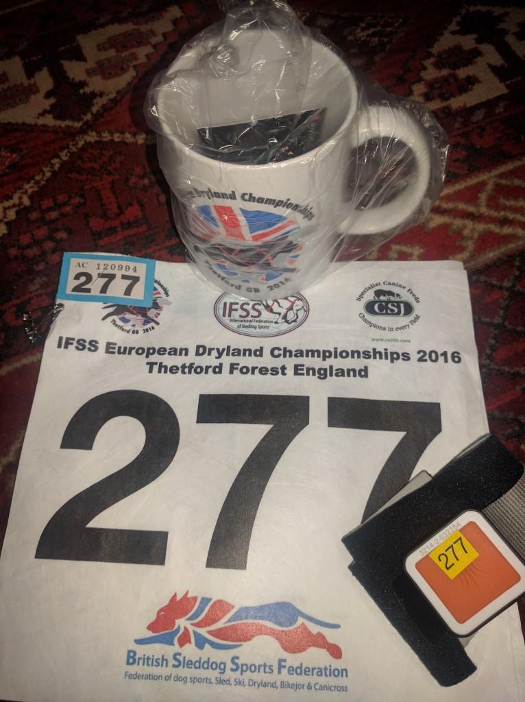 IFSS-EM i England, nummerlappar och chip till starten!